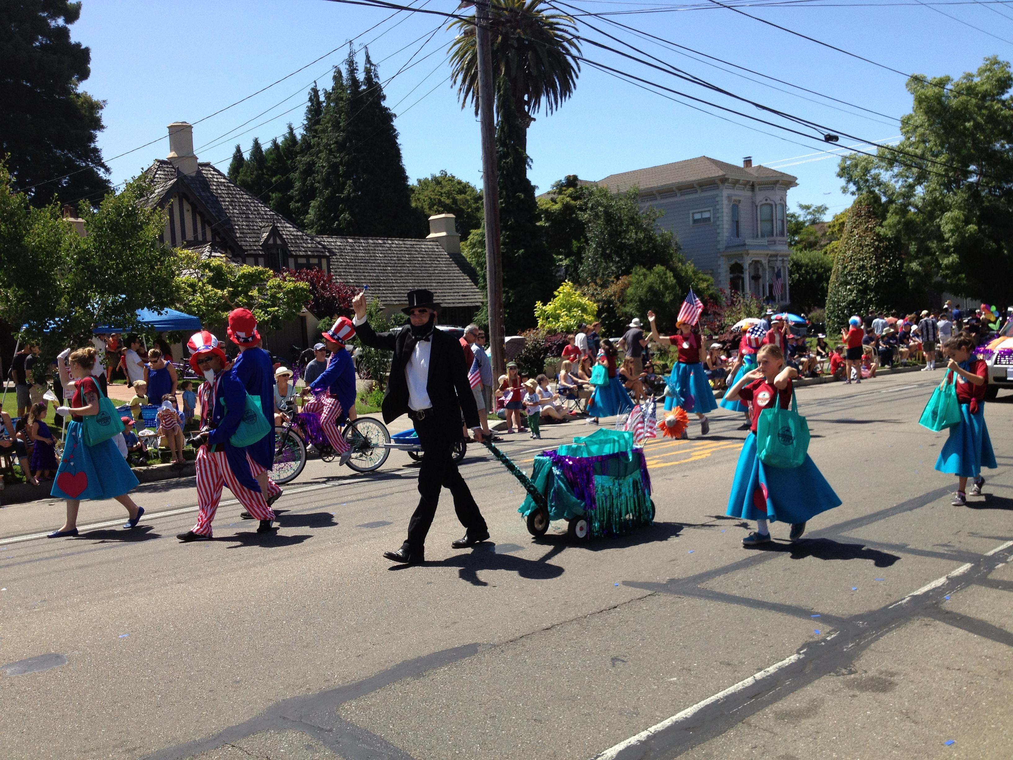 Alameda July 4th 2012 - lhc parade entry