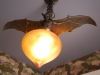 bat light in bat(h) room